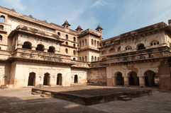 Raj Mahal palace in Orchha Stock Photography