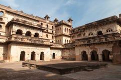 Raj Mahal palace in Orchha Stock Photography