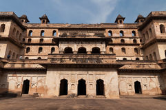 Raj Mahal palace in Orchha Stock Photos