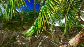 Raj na Hawaje wyspie