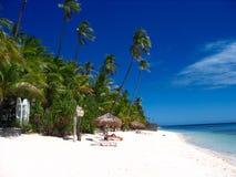 raj na plaży tropikalny Obrazy Royalty Free