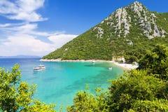 Raj plaża na Peljesac półwysepie w Dalmatia, Chorwacja obraz stock