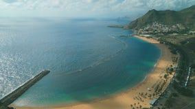 Raj plaża na tropikalnej wyspie zbiory wideo