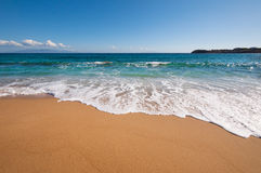Raj plaża w Mykonos Obraz Royalty Free