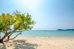Raj plaża obraz stock