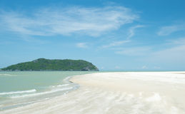 Raj plaża Obrazy Royalty Free