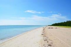 Raj plaża przy Cayo jutÃas Zdjęcia Royalty Free