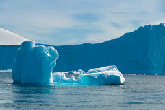 Raj Podpalany Antarctica obraz stock