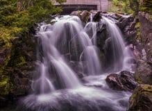 Raj rzeki spadki Obraz Royalty Free