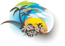 raj tropikalny Zdjęcia Stock