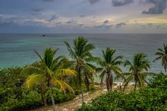 Raj W Bahia Honda fotografia stock