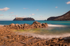 Raj wyspa Porto Santo Obraz Stock