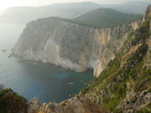 Raj zatoka Zakynthos wyspa Obraz Royalty Free