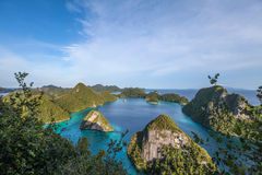 Raja Ampat stockfotos