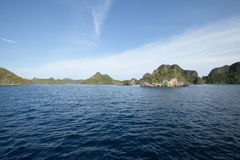 Raja Ampat. Last paradise on earth,west papua, island of New Guinea, the four kings Royalty Free Stock Photos