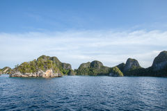 Raja Ampat. Last paradise on earth,west papua, island of New Guinea, the four kings Stock Images
