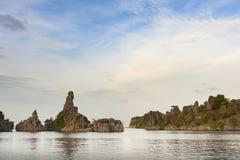Raja Ampat, Papouasie occidentale, Indonésie Photo libre de droits