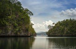 Raja Ampat, Papouasie occidentale, Indonésie Image libre de droits