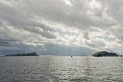 Raja Ampat Papua huge panorama landscape Stock Image