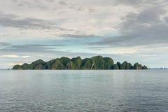 Raja Ampat Papua Indonesia huge panorama landscape Royalty Free Stock Photo