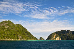 Raja Ampat Papuasia Immagini Stock Libere da Diritti