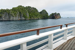 Raja Ampat, West Papua, Indonesia Royalty Free Stock Images