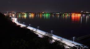 Raja Bhoj Road ou route Bhopal de VIP Photographie stock libre de droits