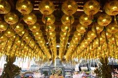 Raja Uda, Penang/Malásia - CERCA do janeiro de 2016: Ano novo chinês cel Imagem de Stock