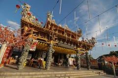 Raja Uda, Penang/Malasia - CIRCA enero de 2016: Año Nuevo chino cel Imágenes de archivo libres de regalías