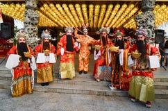 Raja Uda, Penang/Malasia - CIRCA enero de 2016: Dios y dios o del mono Fotos de archivo libres de regalías