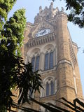 Rajabai Clock Tower in Mumbai, India Royalty Free Stock Photo