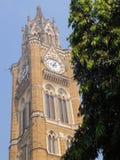 Rajabai Clock Tower in Mumbai, India Royalty Free Stock Photos