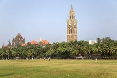 Rajabai Clock Tower in Mumbai, India Royalty Free Stock Images