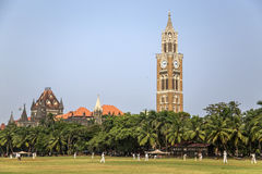Rajabai Clock Tower in Mumbai, India Stock Photo