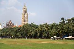 Rajabai Clock Tower in Mumbai, India Stock Image
