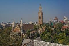 Free Rajabai Tower From Watson Hotel Now Esplanade Mansions At Kala Ghoda Mumbai Stock Photo - 153897140