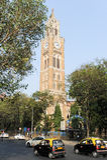 Rajabai Tower - historic clock tower, Bombay, India Stock Photo