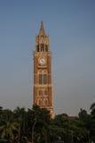 Rajabai Zegarowy wierza w Mumbai Bombay India Zdjęcie Stock