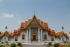 Rajabopit Temple, Bangkok, Thailand. One of the most important Buddhist temple in Thailand, locates in Bangkok Stock Photography