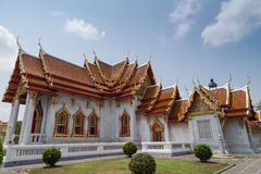 Rajabopit Temple, Bangkok, Thailand. One of the most important Buddhist temple in Thailand, locates in Bangkok Stock Image