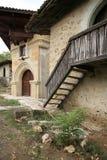 Rajac by, söder av Negotin, östliga Serbien Arkivbilder