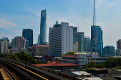 Rajadamri in Bangkok, Thailand: January 29, 2017 Building Business Royalty Free Stock Images
