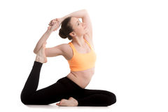 yoga pigeon pose stock photos images  pictures  524 images