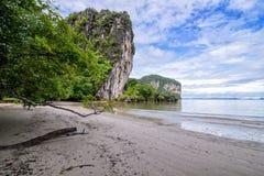 Rajamangala Beach South of Thailand Stock Photography