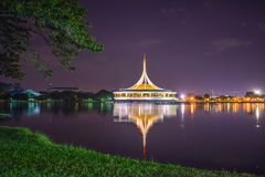 Rajamangala Hall at Public Park stock images