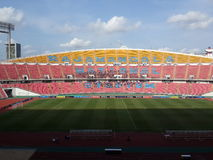Rajamangala Stadium. Rajamangala National Stadium at Thailand Royalty Free Stock Photos