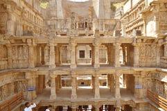 Rajas gemålkivav som är patan, Gujarat Royaltyfria Foton