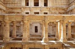 Rajas gemålkivav som är patan, Gujarat Royaltyfri Fotografi
