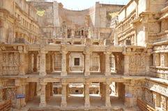 Rajas gemålkivav som är patan, Gujarat Royaltyfri Foto