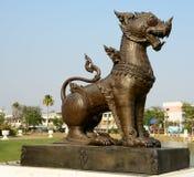 Rajasiha: Il grande leone Immagini Stock